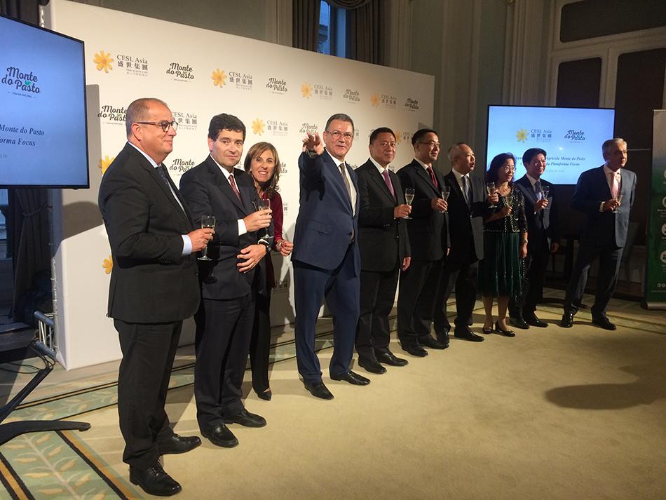 Monte do Pasto   Investimento da CESL-Ásia abre portas ao mercado chinês
