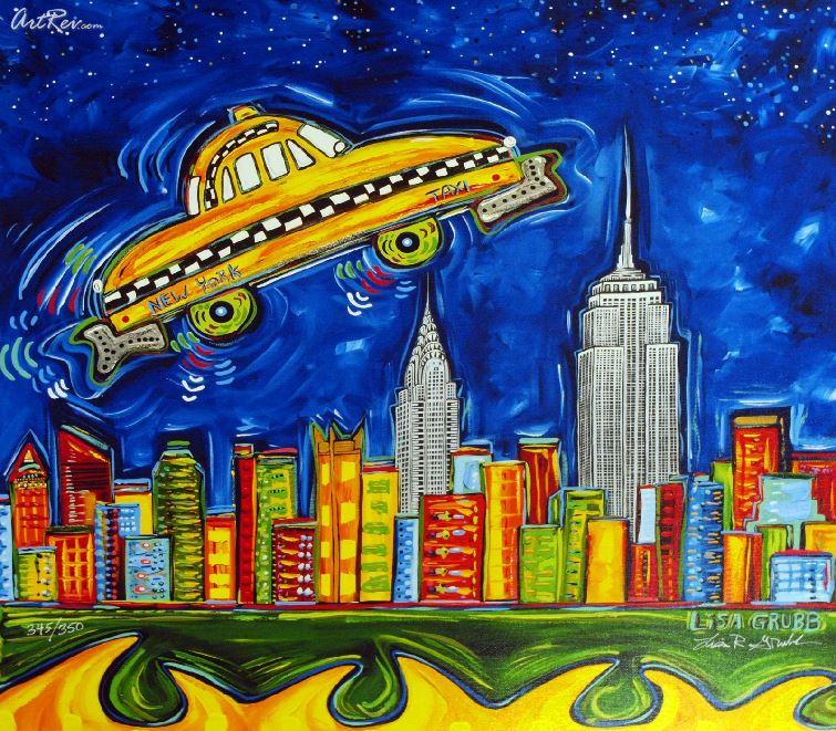 Táxis voadores e outros prodígios