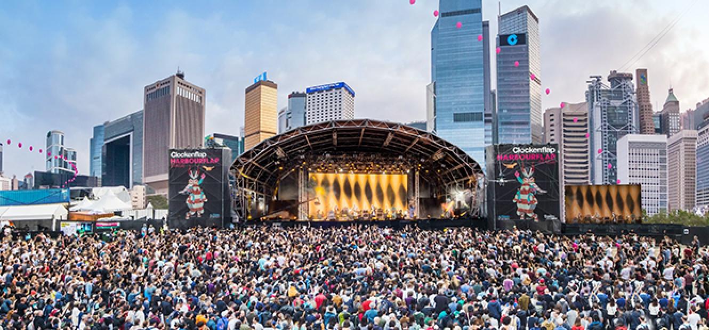 Festival Clockenflap cancelado em Hong Kong