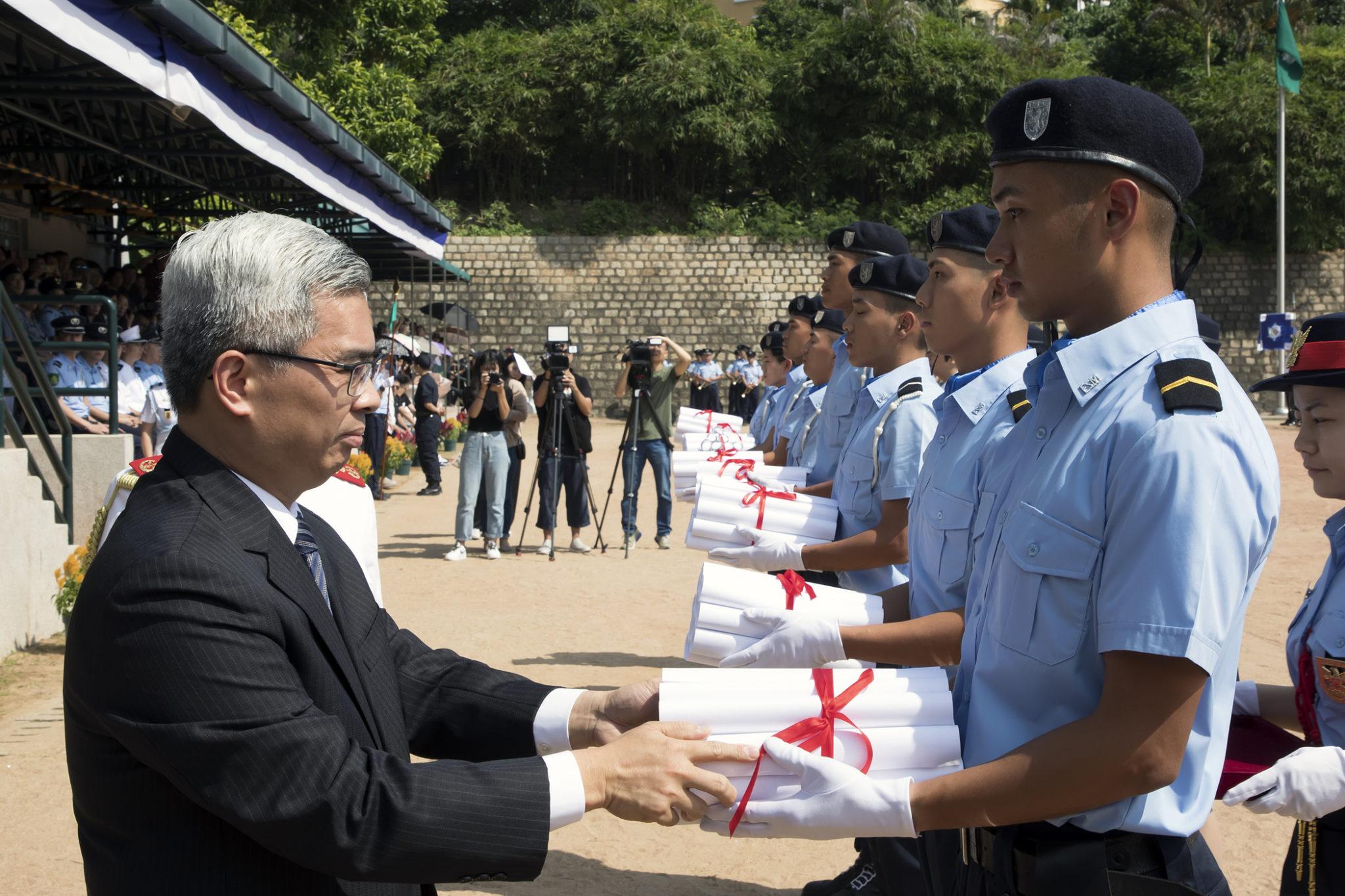 Segurança   Wong Sio Chak quer prisão nova pronta o mais depressa possível