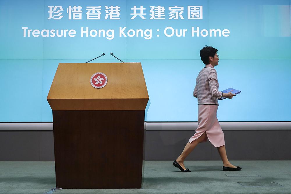 Hong Kong | Carrie Lam diz que um ano depois todos devem aprender a lição dos protestos