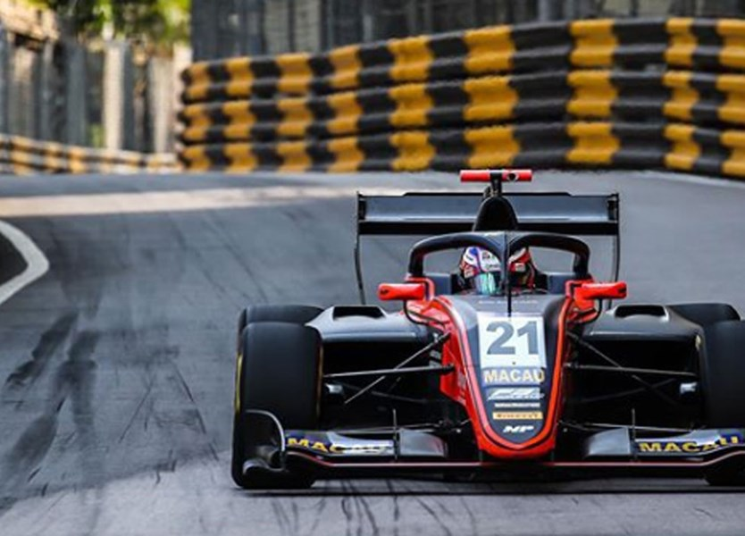 Holandês Richard Verschoor vence F3 do GP Macau