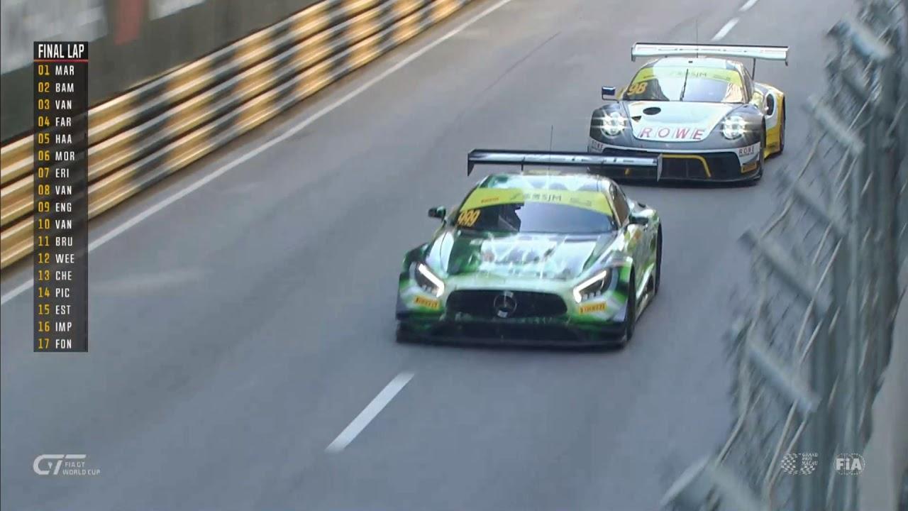 Raffaele Marciello foi o vencedor da Taça do Mundo de GT da FIA