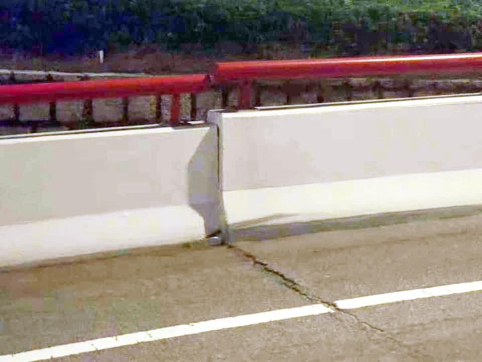 Ponte da Amizade | Fissura levou a encerramento temporário
