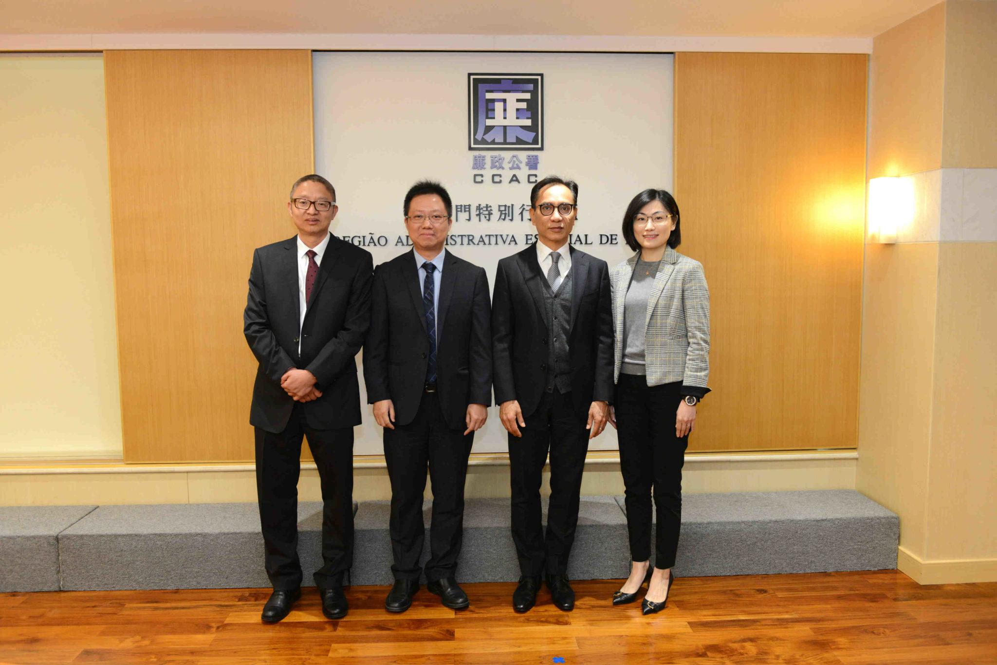 CCAC | Novos adjuntos e chefe de gabinete tomam posse