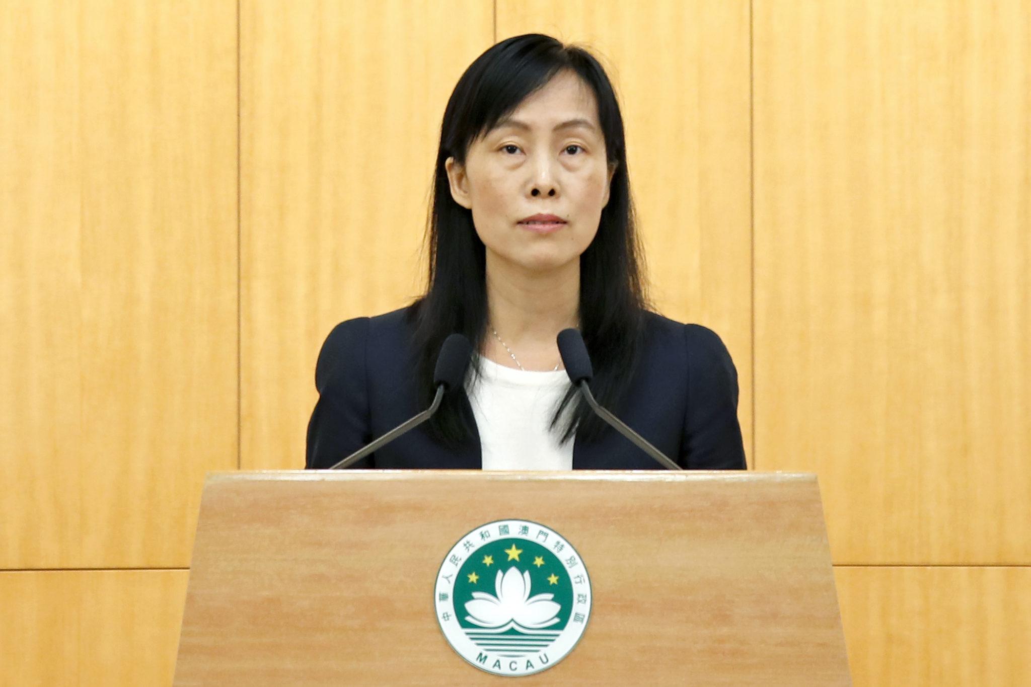 """Secretária defendeu que Amor a Macau e à pátria """"não são apenas lemas"""""""
