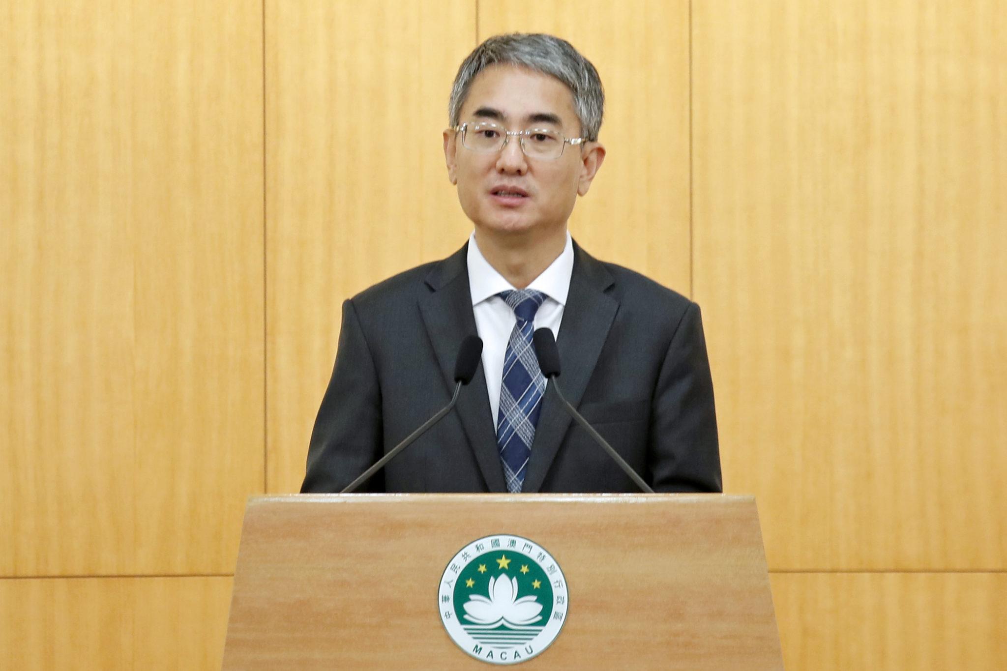 Conselho Executivo | André Cheong estreia-se como porta-voz