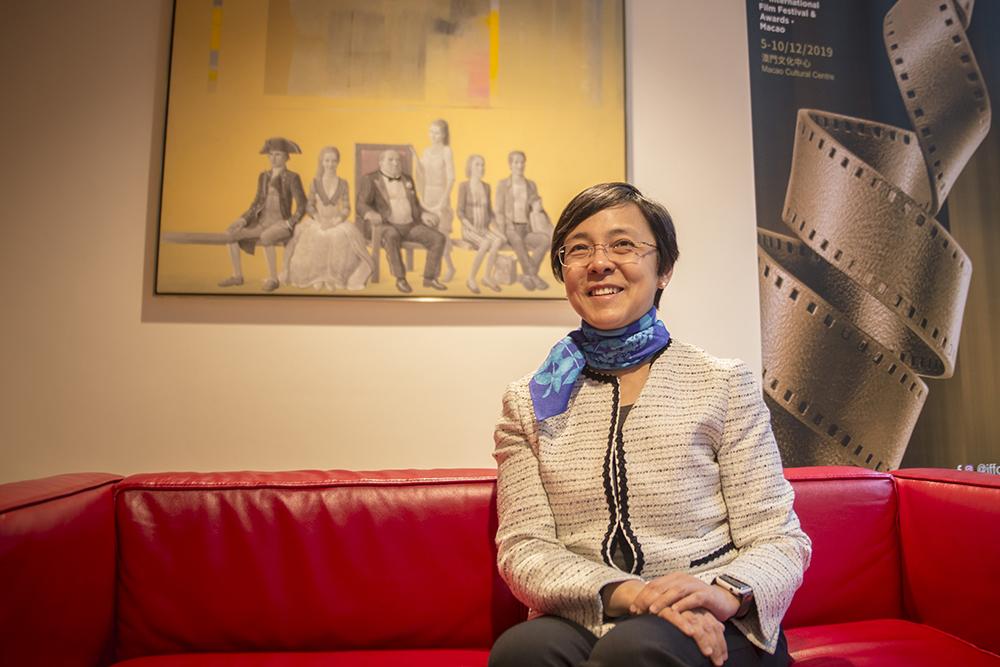 """Maria Helena de Senna Fernandes, presidente da comissão organizadora do IFFAM : """"A média de lotação tem sido de 80%"""""""
