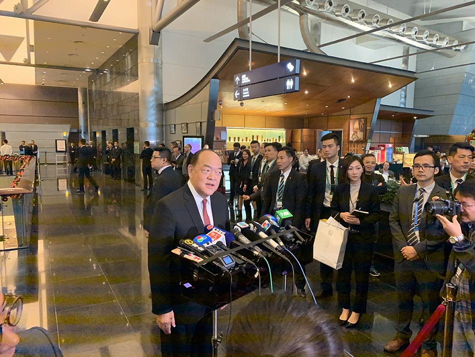 Novo Governo | Ho Iat Seng aposta na diversificação económica e nas orientações de Xi