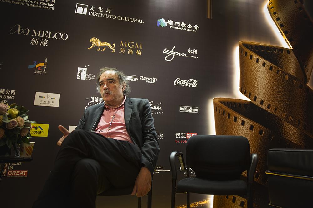 """Paulo Branco, produtor de cinema: """"Este festival foi uma ideia minha"""""""