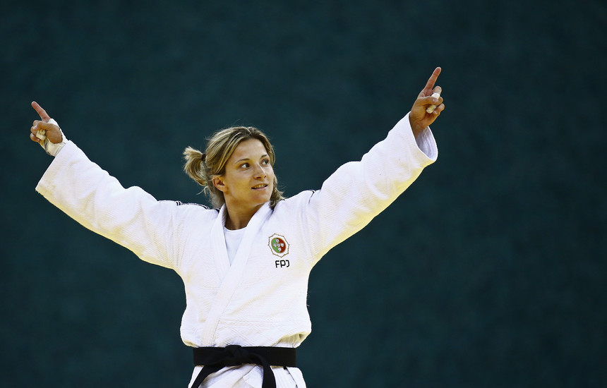 Telma Monteiro conquista medalha de bronze no Masters de Qingdao