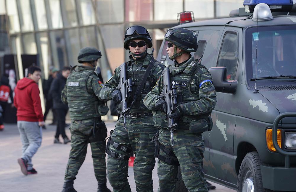 Zhuhai | Polícia em exercícios a pensar na visita de Xi Jinping
