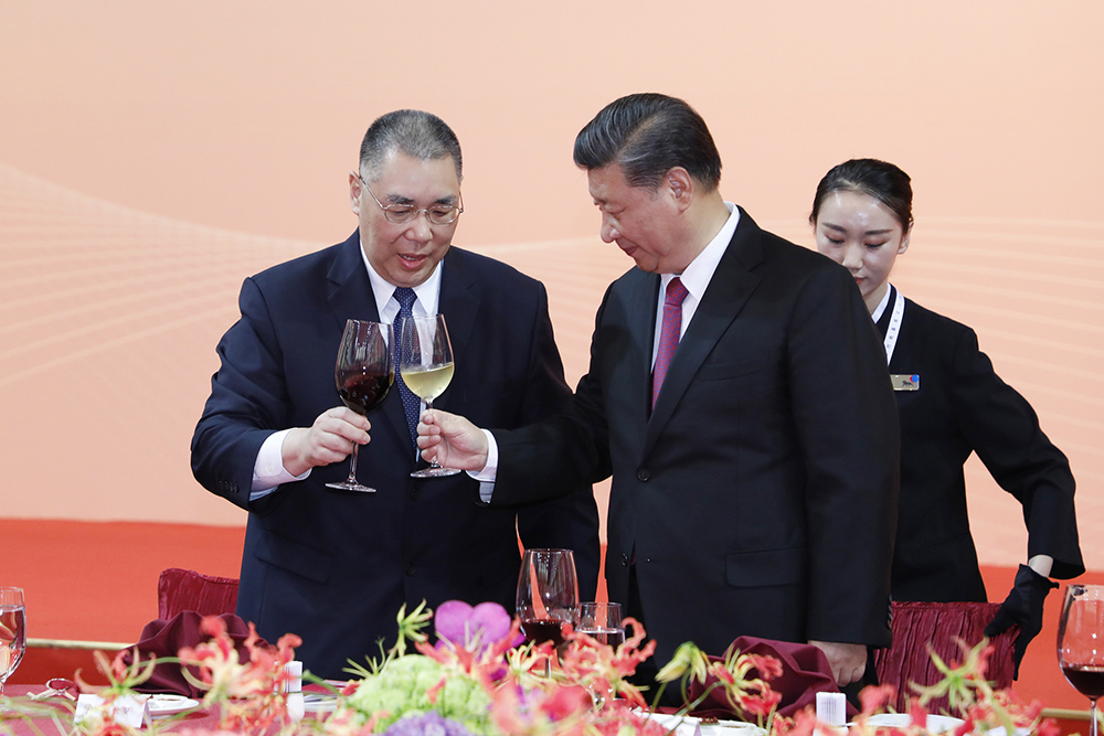 """Xi Jinping explicou sucesso de Macau com o """"valor fundamental"""" do patriotismo"""