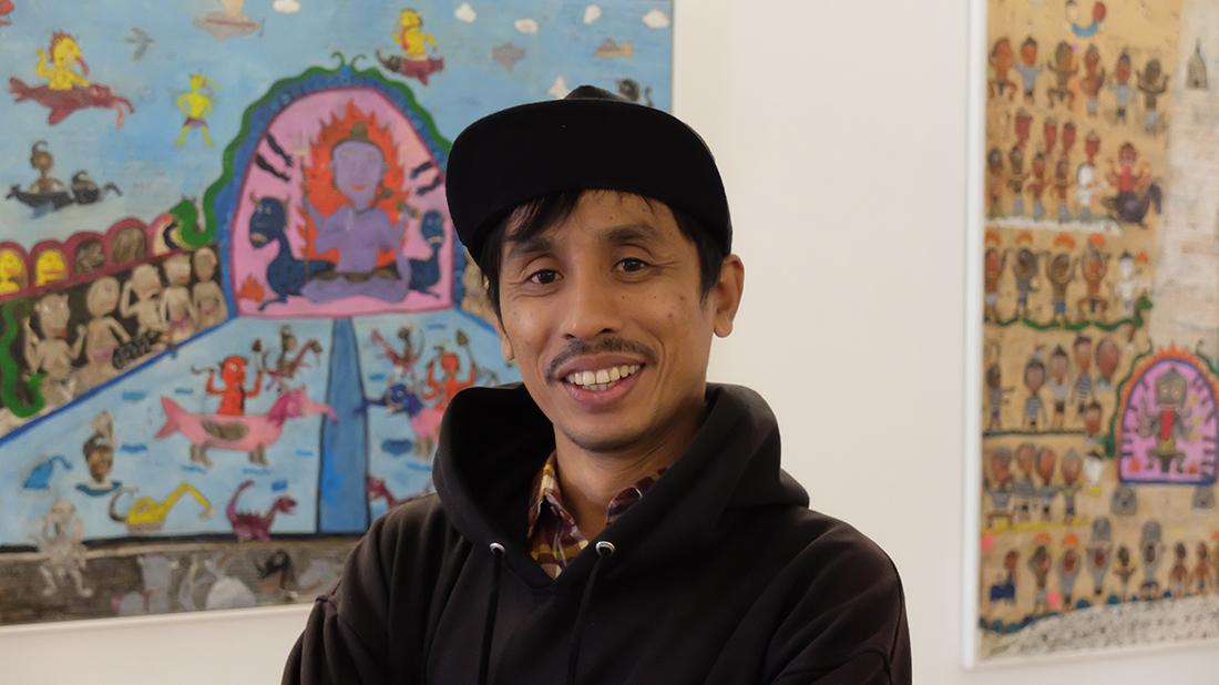 I Nyoman Suarnata, pintor   A sustentável procura do ser