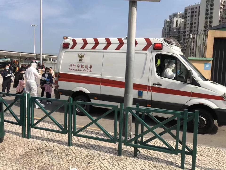 Governo confirma primeiro caso de Pneumonia de Wuhan em Macau