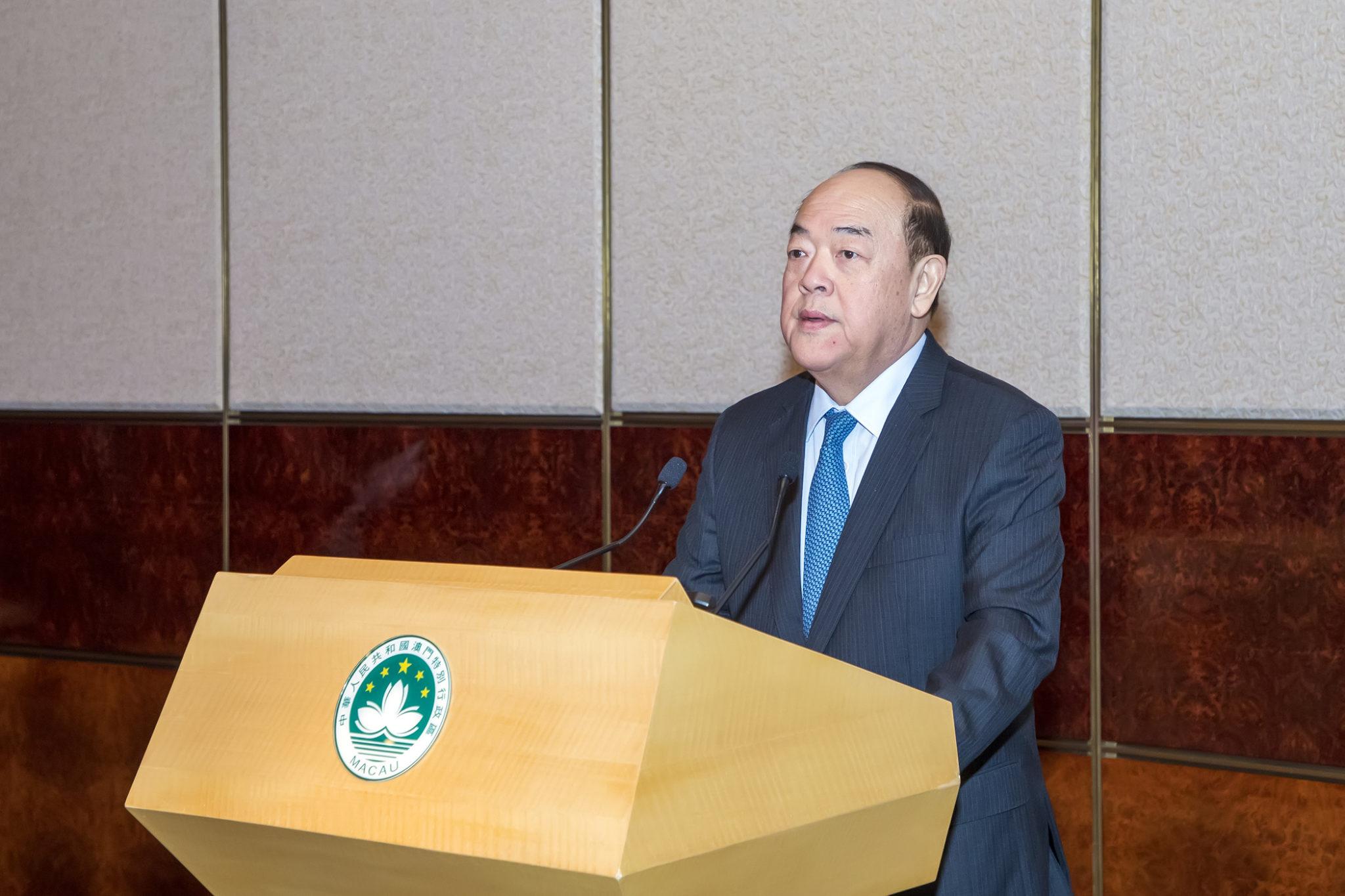 APN | Ho Iat Seng diz que Hengqin é ponto de paragem para Grande Baía