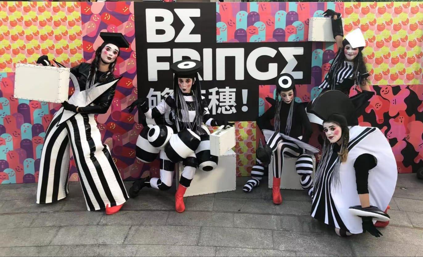 Festival Fringe | Teatro físico e performance de rua marcam cartaz no fim-de-semana