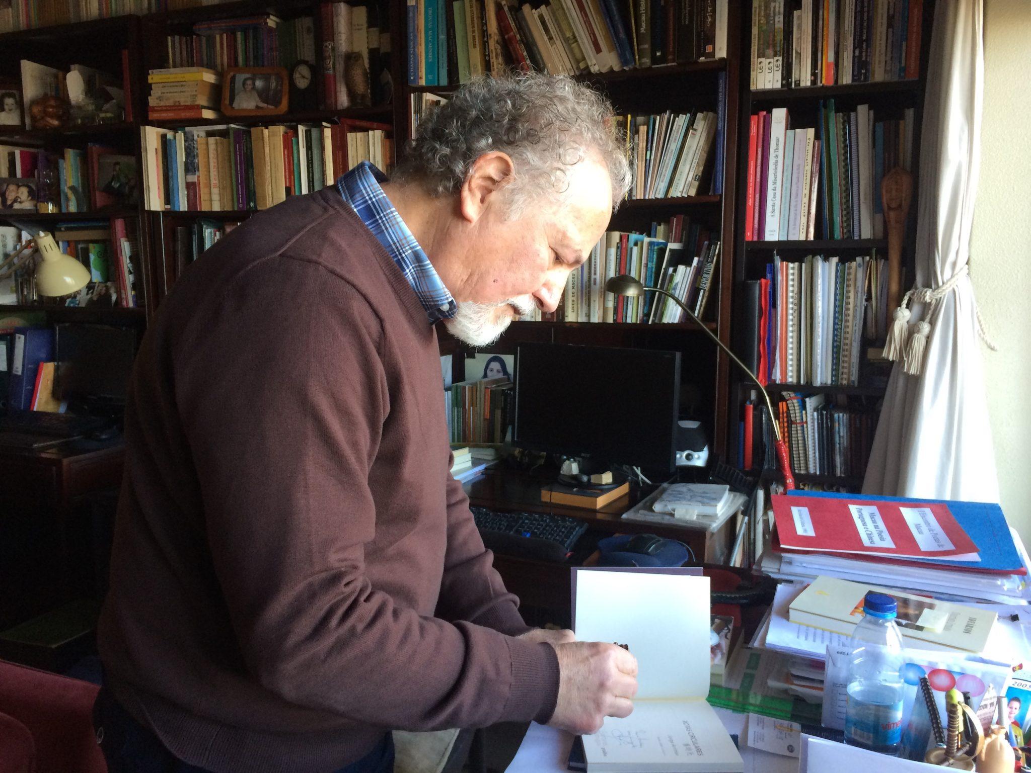 """Jorge Arrimar, escritor: """"A poesia continua com Macau"""""""