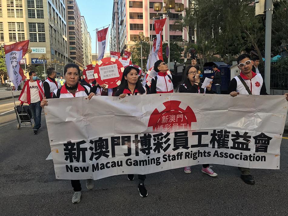 Casinos | Centenas saem às ruas por melhores condições de trabalho