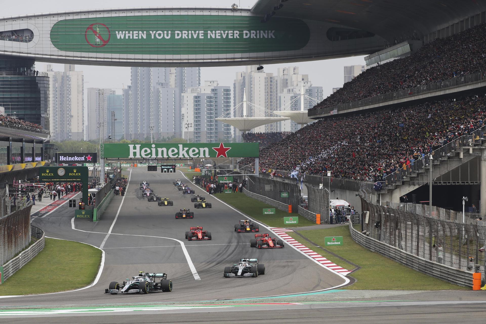 Grande Prémio da China de Fórmula 1 adiado