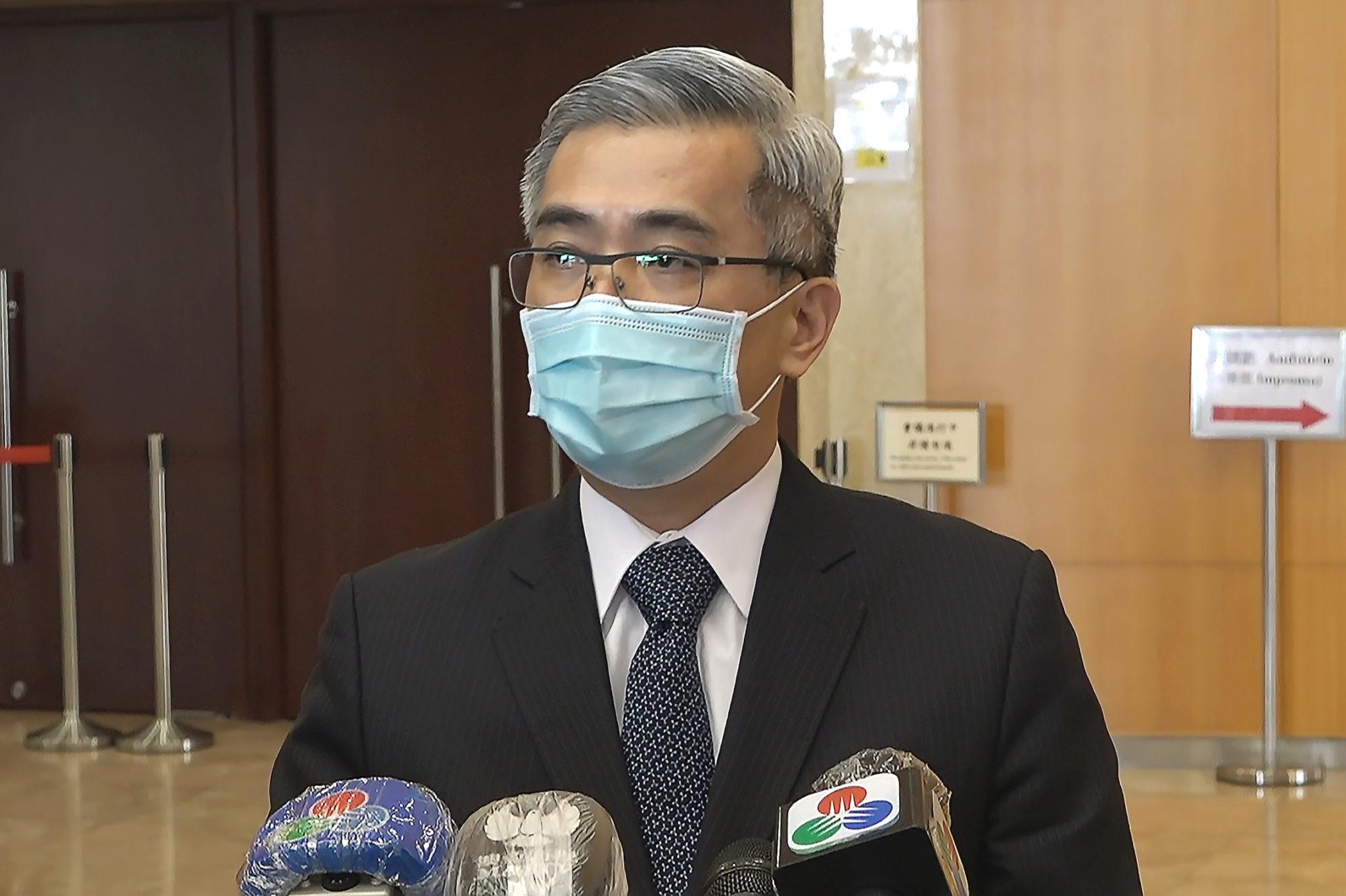 Lei da segurança nacional de Hong Kong é referência para Macau, diz Wong Sio Chak