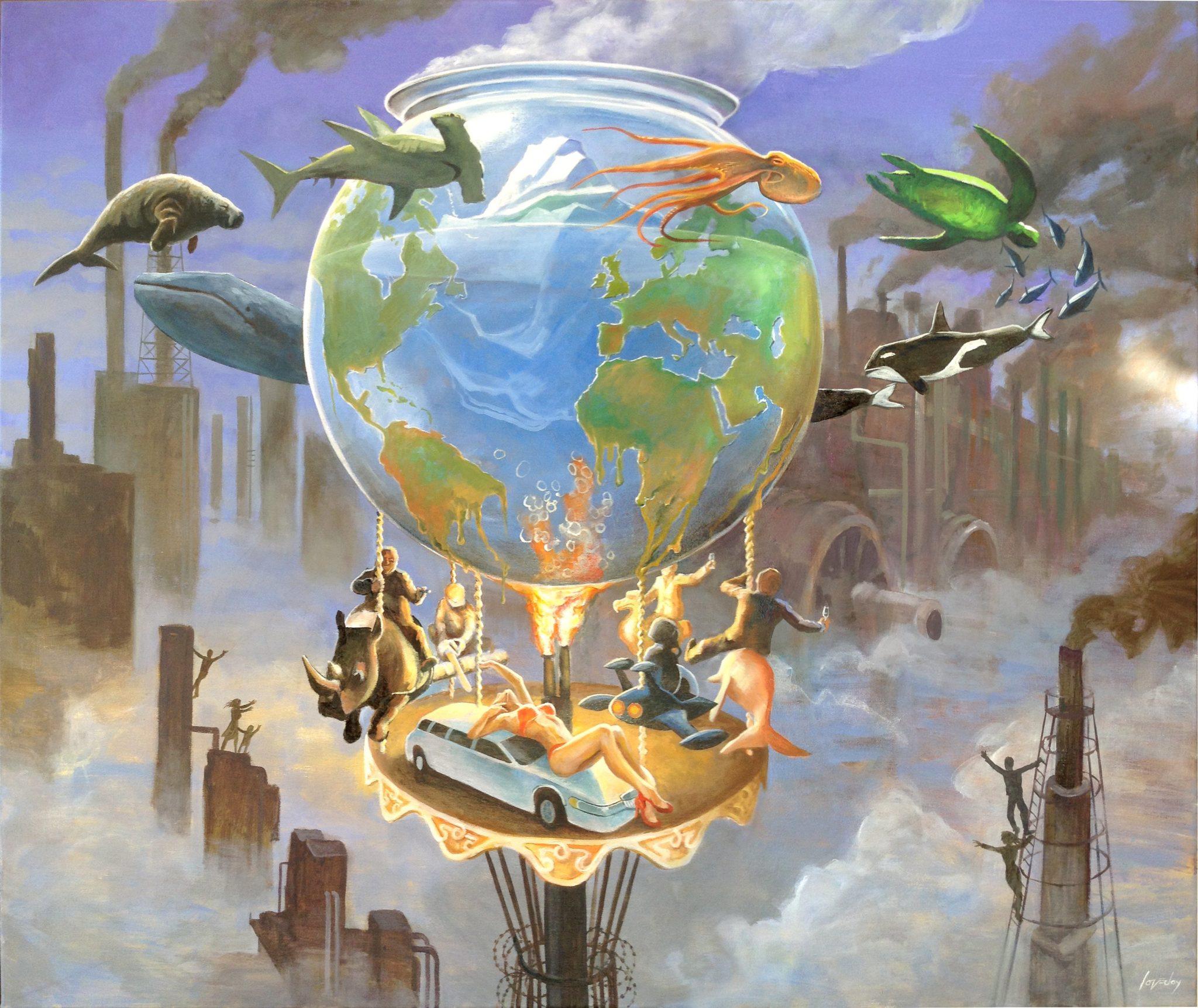 O Antropeceno e a globalização