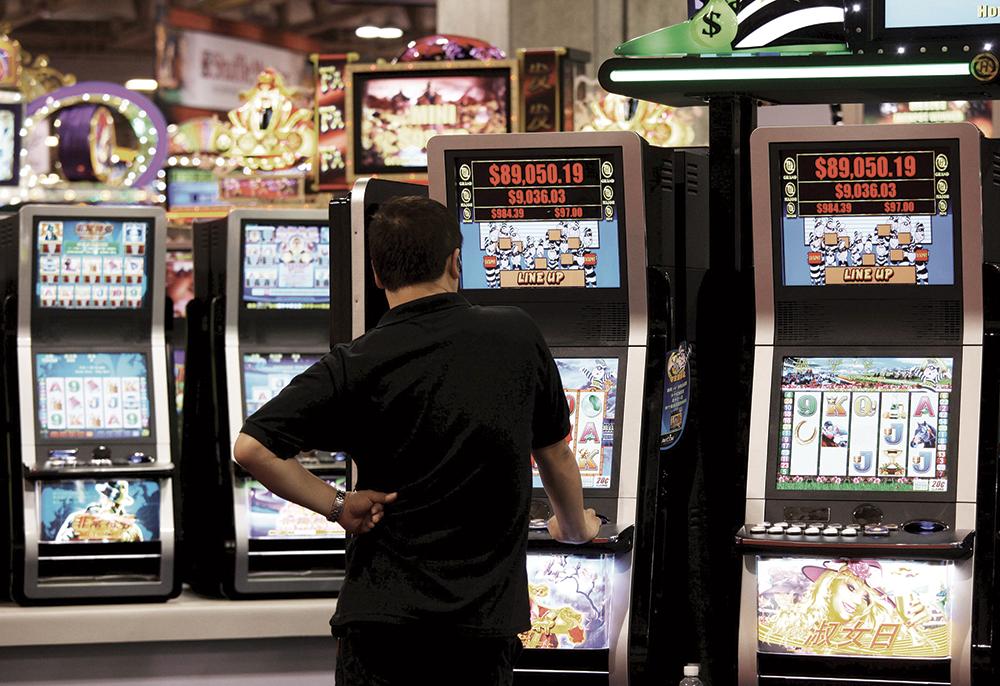 Receitas dos casinos em trajectória ascendente