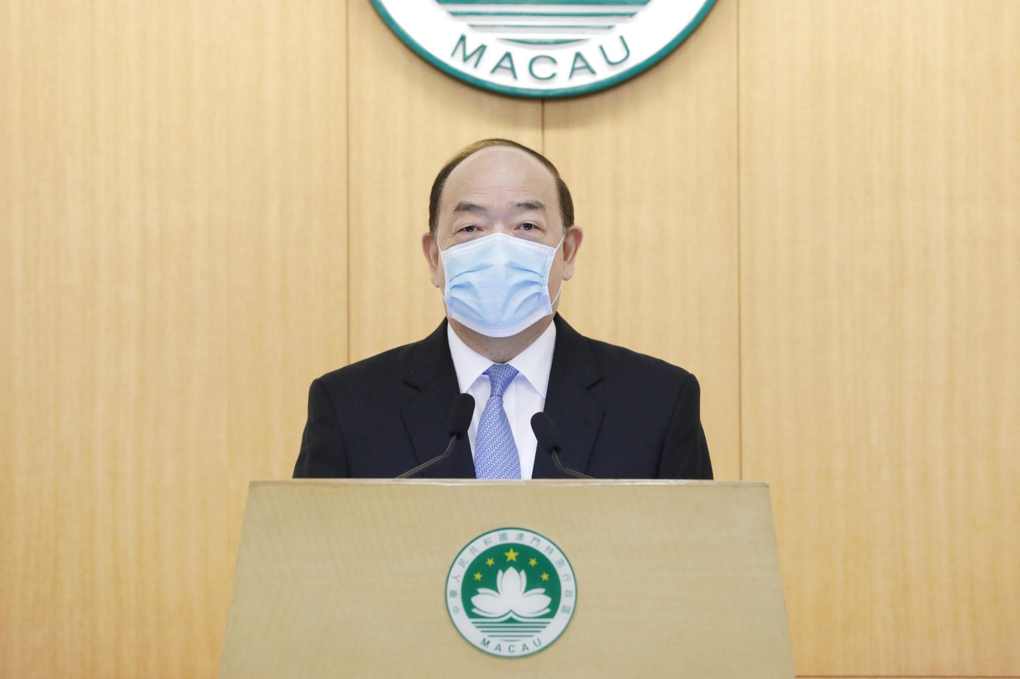 Ho Iat Seng vinca a importância do patriotismo na governação de Macau