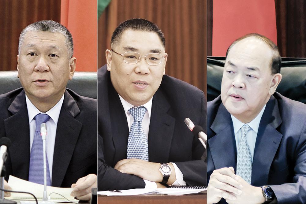 LAG | Recordações das primeiras medidas de Edmund Ho e Chui Sai On