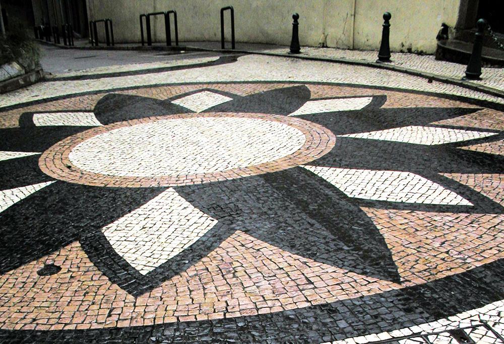IAM   Calçada portuguesa pode ser substituída para combater a chuva