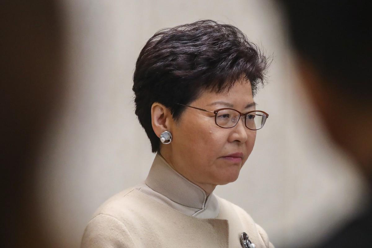 Hong Kong | Carrie Lam apoia lei para retaliar sanções estrangeiras