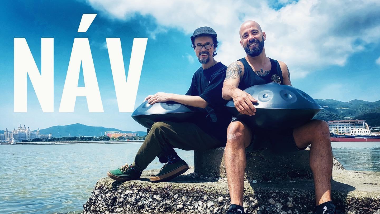"""Manuel Variz e Dave Wan compõem os Náv, a banda de """"melodias hipnóticas"""""""