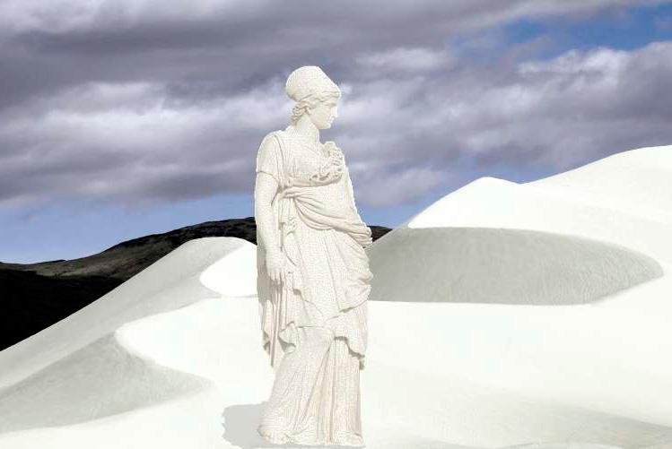 A estátua de sal