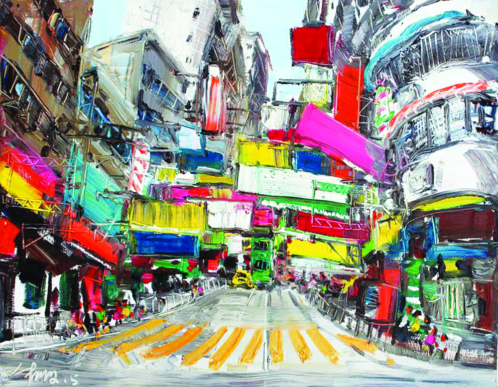 Hong Kong, o grande palco