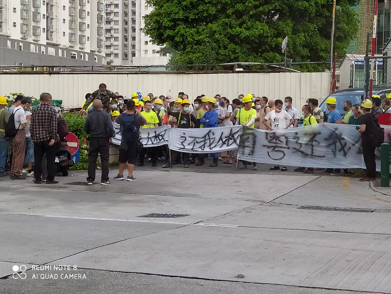 DSAL chamada a estaleiro devido protestos de trabalhadores