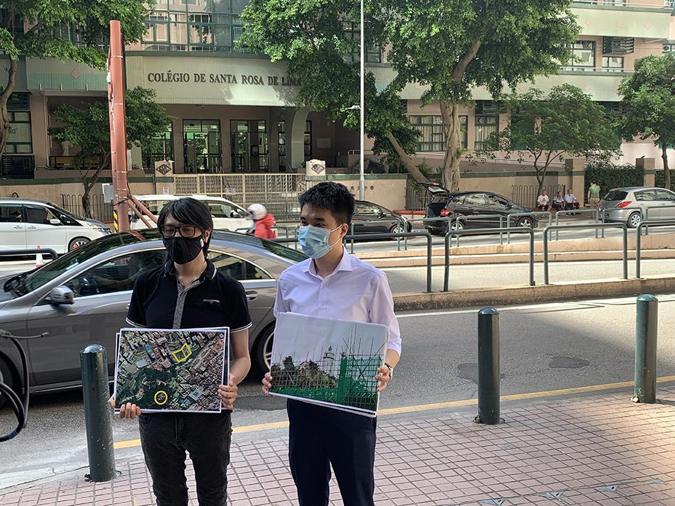 Guia   Construções na área de protecção preocupam Novo Macau