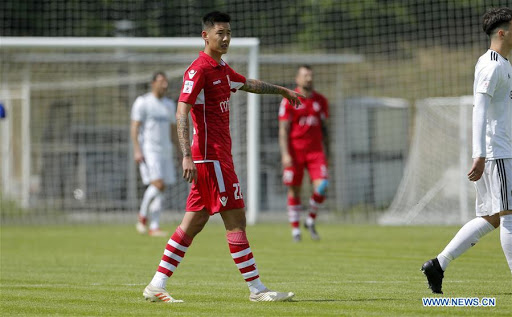 Clube sérvio nega ter rescindido com jogador chinês devido a pressão de Pequim