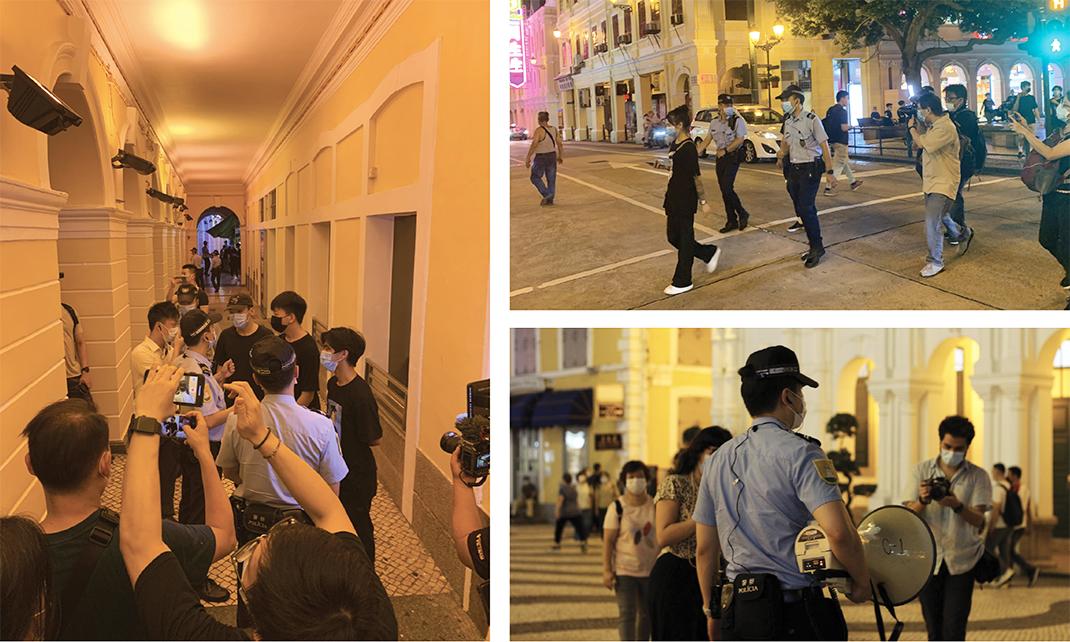 4 de Junho | Largo do Senado com aparato policial e algumas detenções
