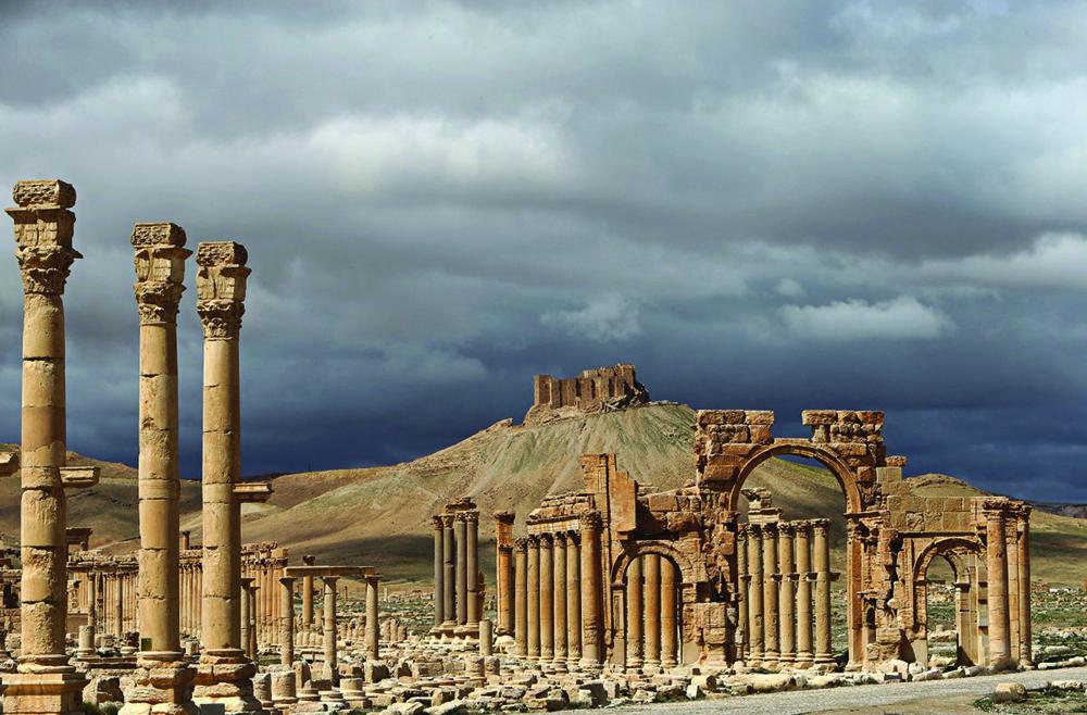 Sob o céu de Palmyra