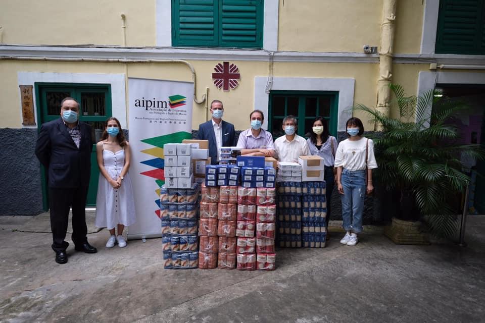 Caritas   AIPIM consegue reunir mais de 23 mil patacas em donativos