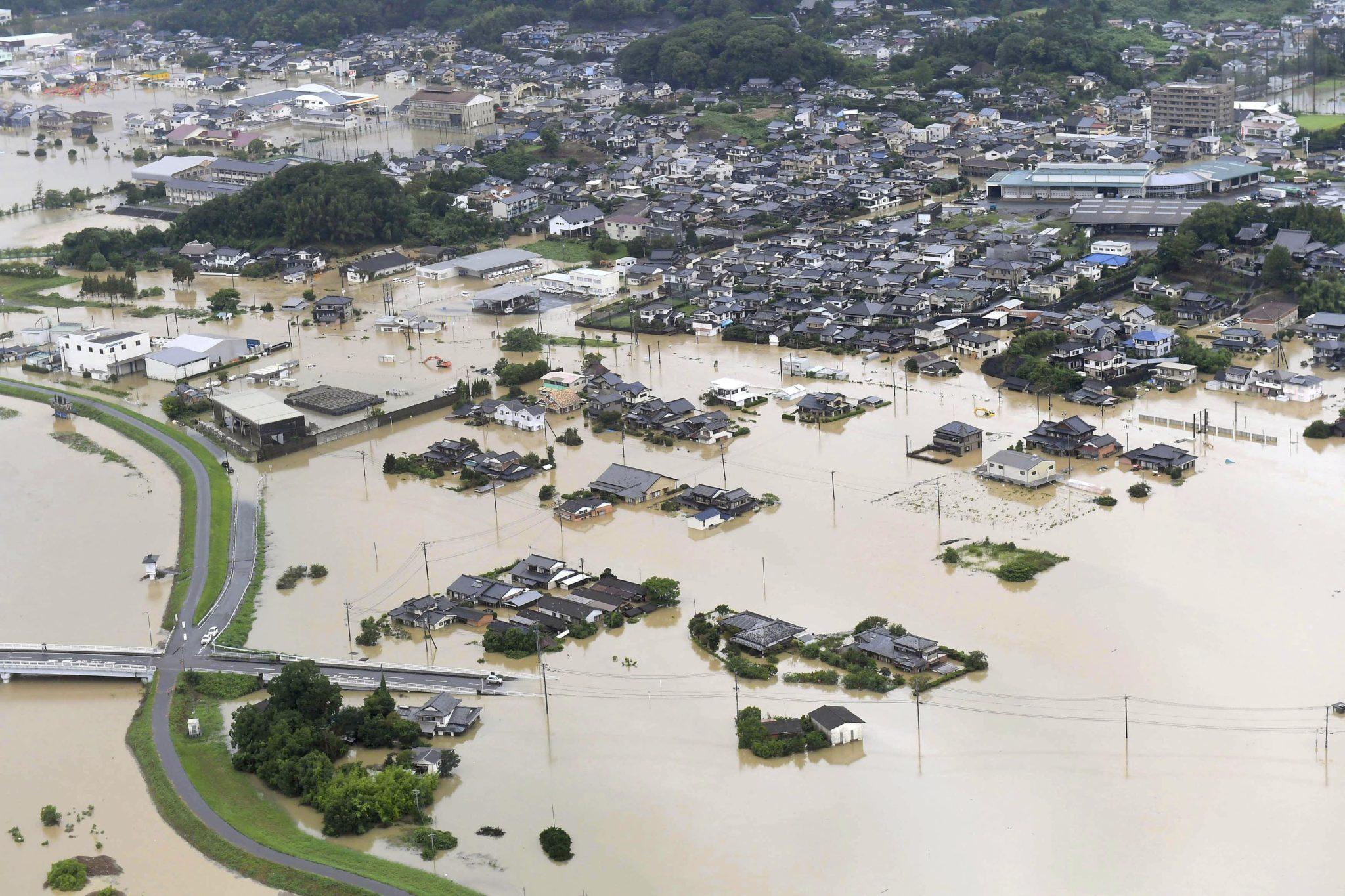 Japão | Novo balanço dá conta do registo de 55 mortos causados por inundações