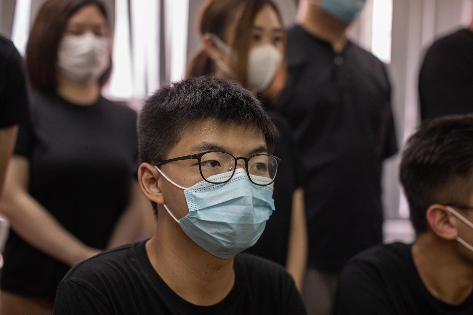 """Joshua Wong: """"Voz da sociedade civil [de Macau] foi silenciada"""""""