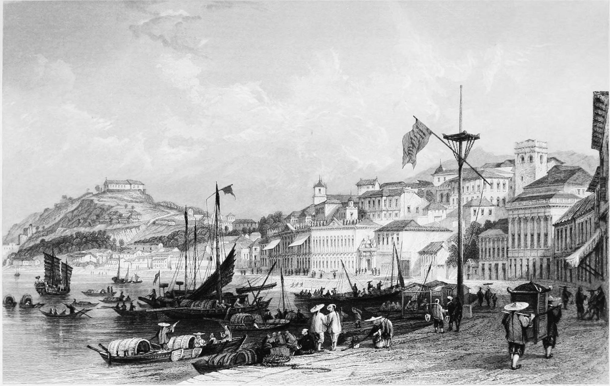 Os portos francos de Macau