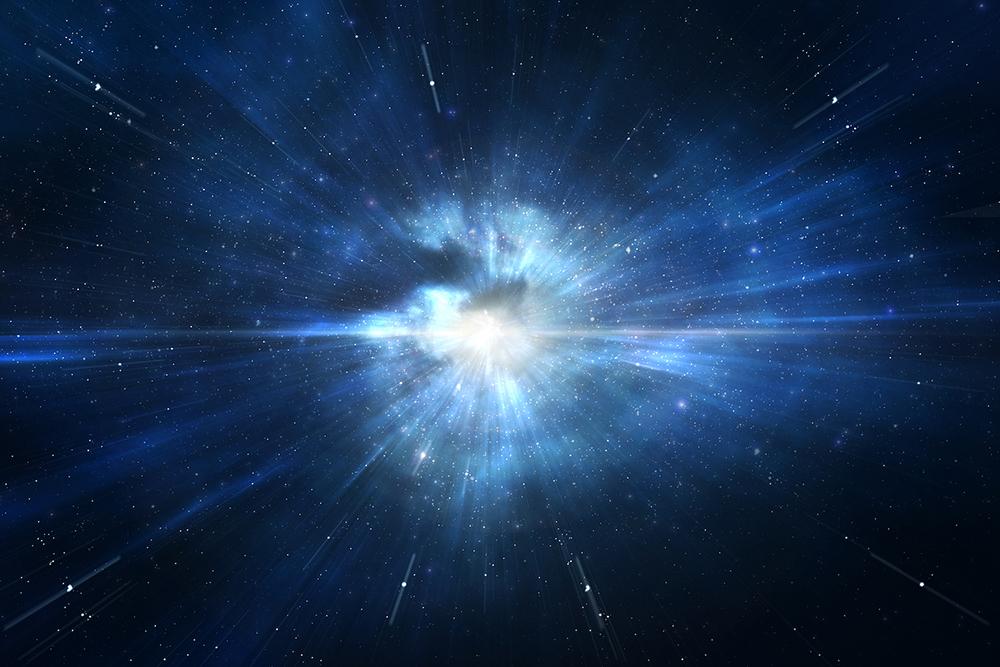 Um segundo na história do universo