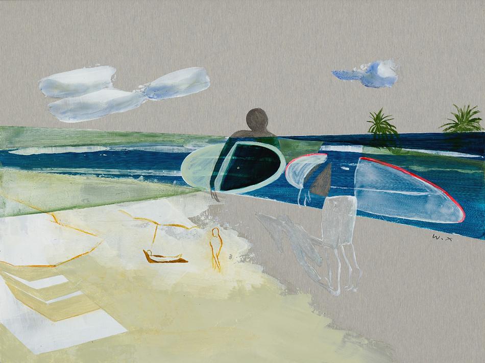 Pintura | Exposição de Zheng Wenxin questiona limites da internet