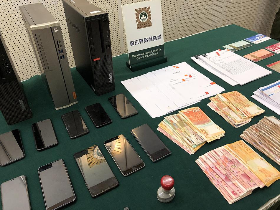 PJ | Nove detidos por suspeitas de burla e falsificação de documentos