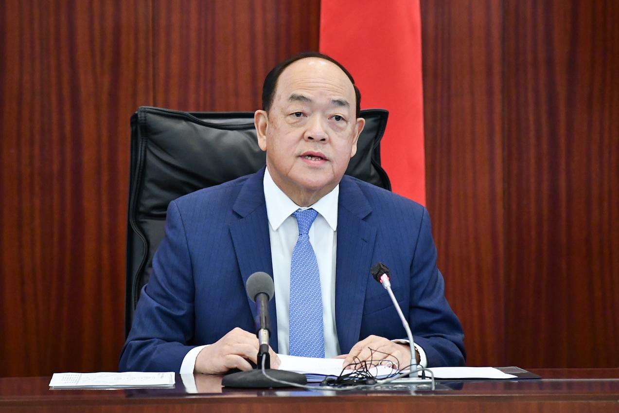 Covid-19 | Ho Iat Seng diz que reunião familiar deve ser feita no estrangeiro