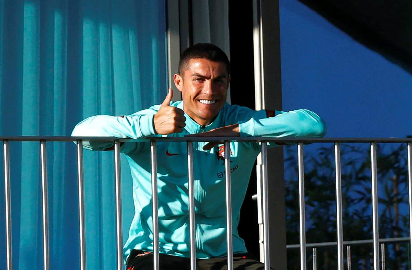 A covid-19 também não gosta do Ronaldo