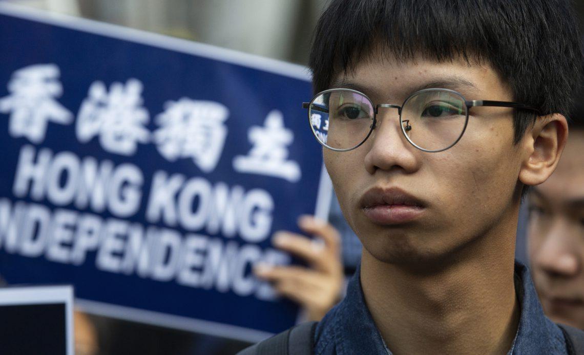 Hong Kong   Activista acusado de secessão