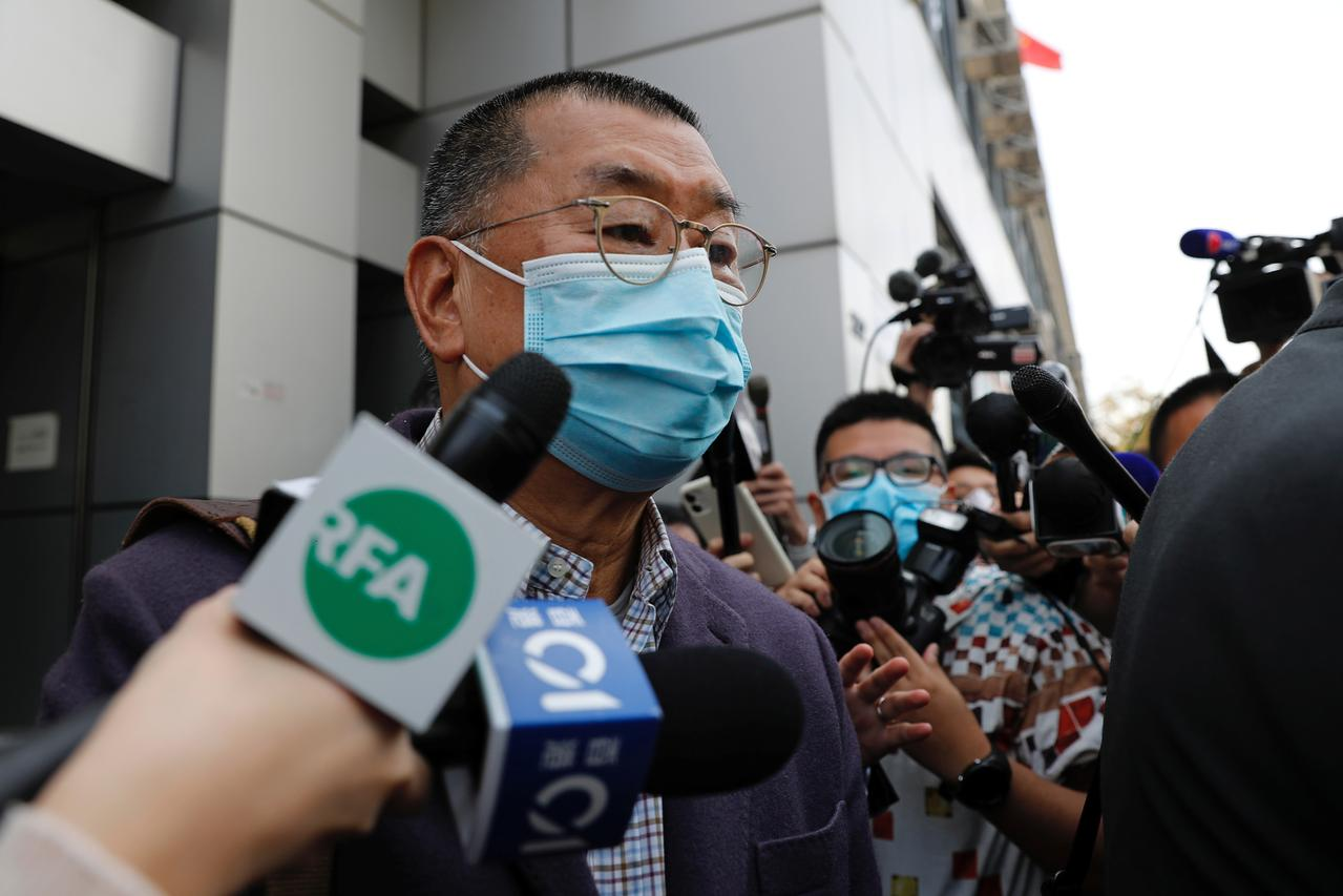 Hong Kong | Tribunal nega fiança a magnata dos 'media' Jimmy Lai, acusado de fraude